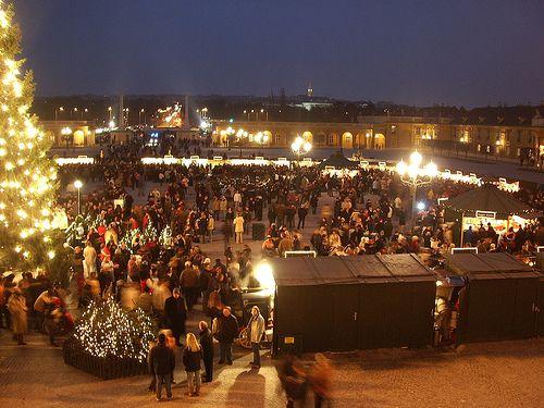 Karácsonyi vásár, Schönbrunn
