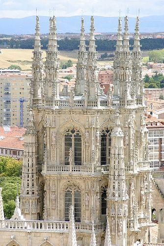 Burgos Katedrális belül
