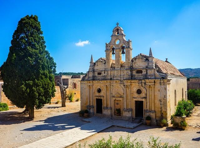 kolostor Kréta látványa állítsa helyre a szem látásélességét