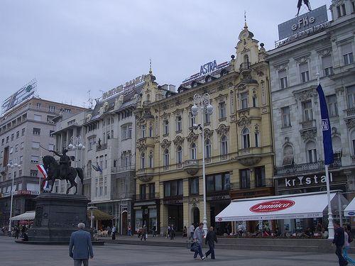 Zágráb, Jelasics-tér
