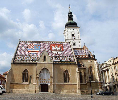 Szt. Márk templom, Zágráb
