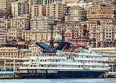 Genova Terkepe A Varos Latnivaloival Olaszorszag