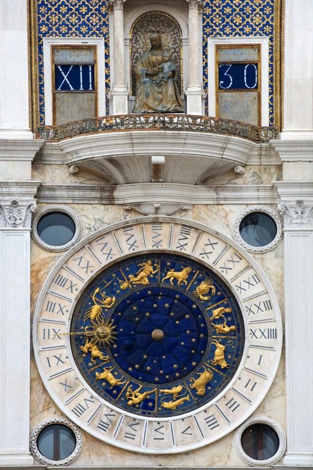 Szent Márk óratorony, Velence