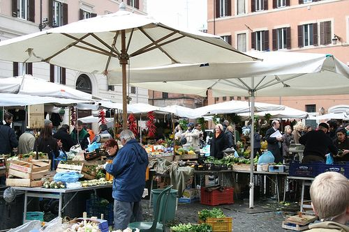 Szállás Róma - Campo de' Fiori piac