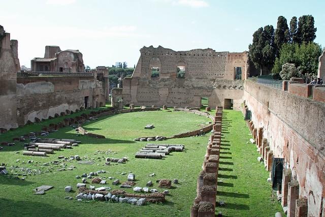 Palatinus, Stadium, Róma