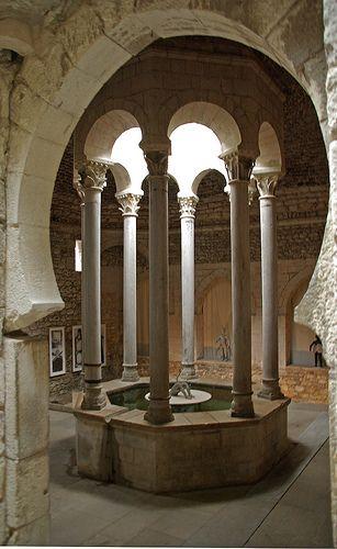 Arab fürdő, Girona