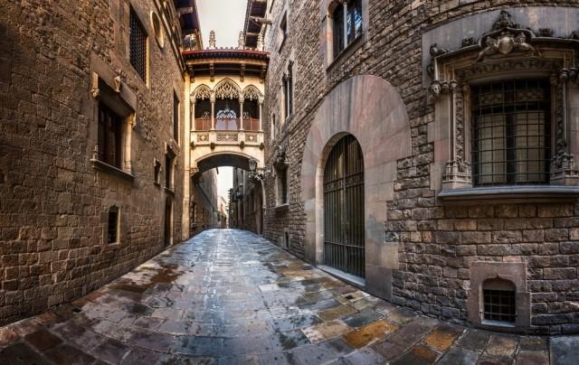 Barcelona, Gótikus negyed