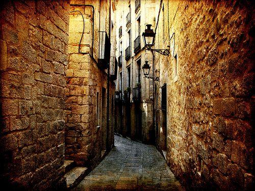 Girona óvárosa