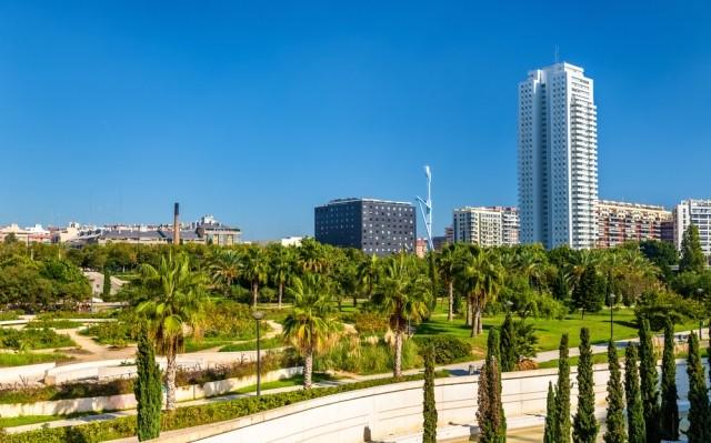 Jardin del Turia, Valencia