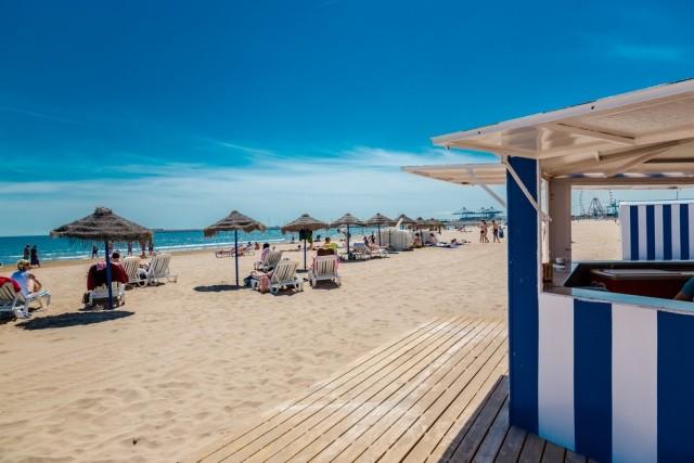 Las Arenas strand, Valencia