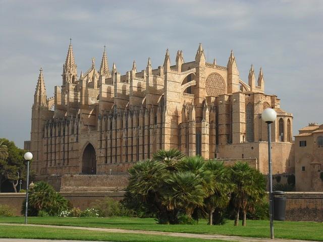 Palma de Mallorca katedrális kép