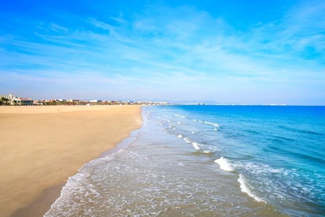 Malvarrosa strand, Valencia