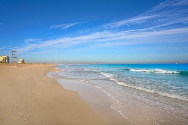 Valencia, Saler strand